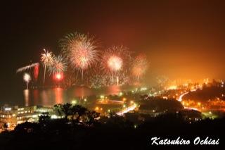 洞爺湖、花火大会、2012年