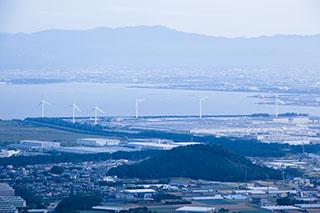 渥美半島,蔵王山展望台,風車