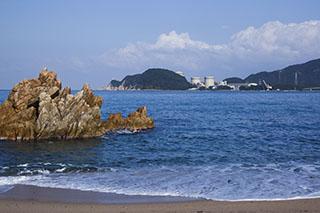 福井県,美浜原発,水晶浜