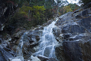 南木曽、長野県、田立の滝、霧が滝、紅葉時期、登山
