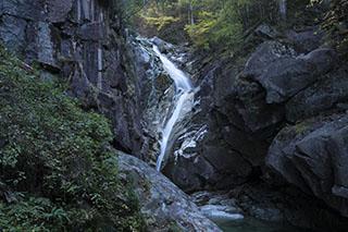 南木曽、長野県、田立の滝、螺旋滝、登山