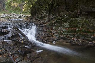 三重県名張市、赤目四十八滝、2012年、紅葉、乙女滝