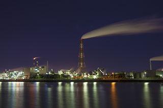三重県四日市市、工場萌え、夜景、撮影地、第3コンビナート