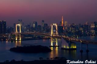 フジテレビ本社、お台場、はちたま、展望室、東京タワー、レインボータワー、東京夜景