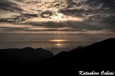 長崎県対馬市、内山峠、展望台、アカハラダカ、バードウォッチング