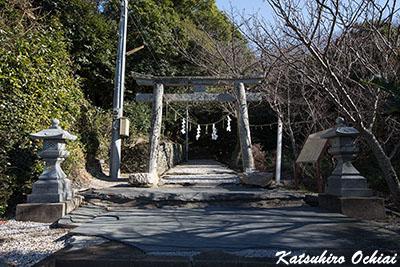 長崎県対馬市、豆酘、多久頭魂神社、天照大神、天道信仰