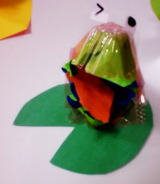玉子パックで作る動物 画像