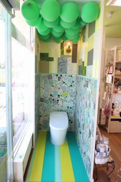 あっとトイレ緑ミドリみどりのトイレ といれたすブログ