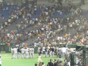 阪神 vs 巨人 @ 東京ドーム