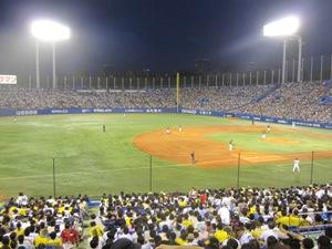 阪神 vs ヤクルト @ 神宮球場