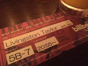 Livingston Taylor @ Billboard Live Tokyo