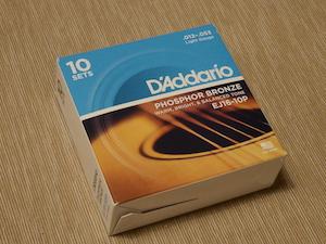 D'Addario Phosphor Bronze EJ16