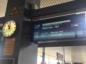 デュッセルドルフ中央駅