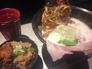 鶏 Soba 座銀 にぼし店
