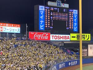 阪神 vs ヤクルト @ 明治神宮球場