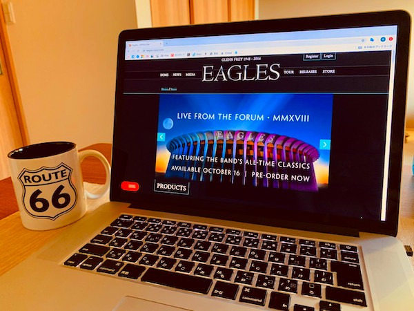 『Live From The Forum』 by Eagles