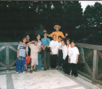 2002年キャンプ。パレスチナ&イスラエルのこども遺族