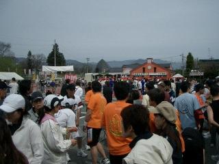 天竜峡のマラソン大会1