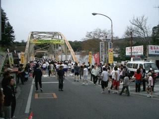 天竜峡のマラソン大会3
