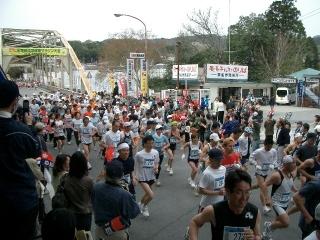 天竜峡のマラソン大会4