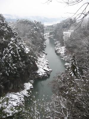 2012天龍峡雪景色