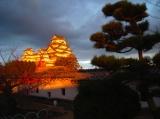 姫路城夕景