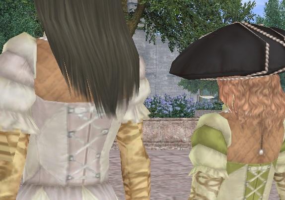 b5f699825aab9 あ、横にいるのは髪型を変えたマツリなのです(・・・そういえば言うの忘れてた;)。 着てるのは和菜さんからいただいた文化功労者のドレスだったり。