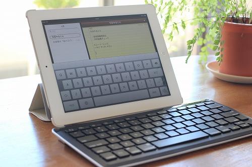 ipad bluetoothキーボード