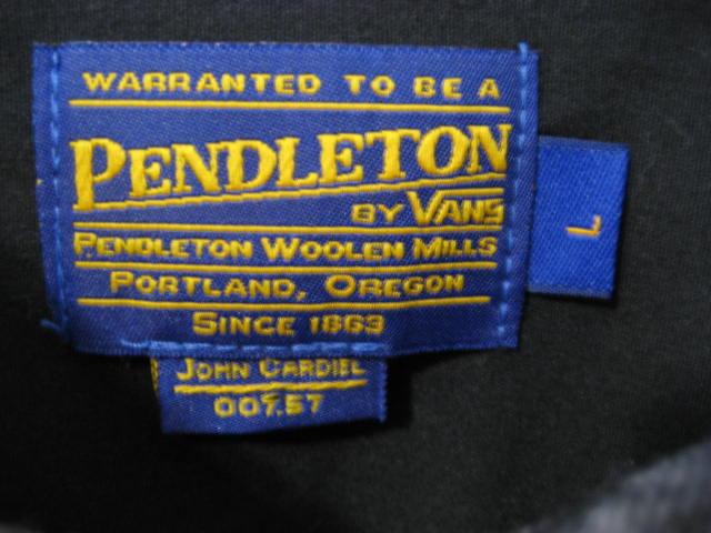 Pendlton×Vans