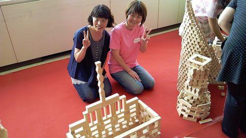 宮城県仙台市変わった珍しいイベント1催し物万個積み木でコミュニケーション