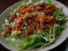 豚キムチサラダ