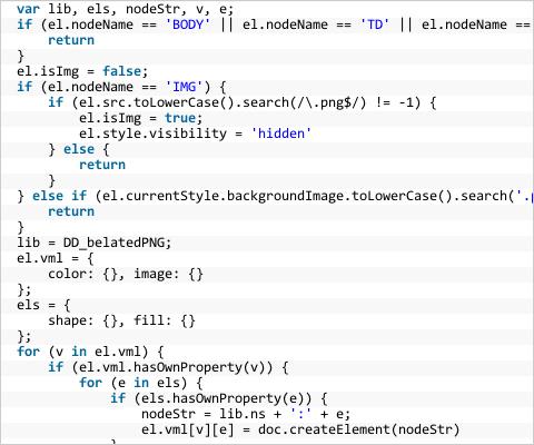 イメージ:JS&CSS Highlighter テスト