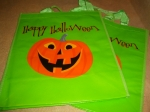 ハロウィーンTrick or Treat Bags