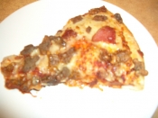 Left over Pizza