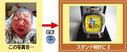 子供の絵でつくるオリジナル時計