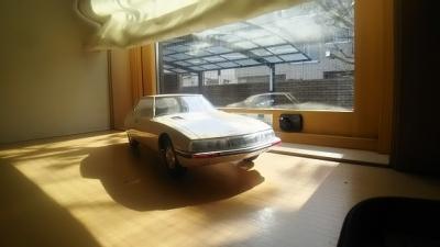 窓際の愛車、SM.JPG