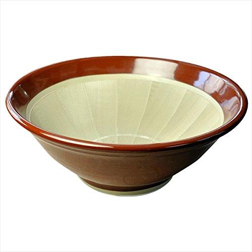 石見焼すり鉢赤茶