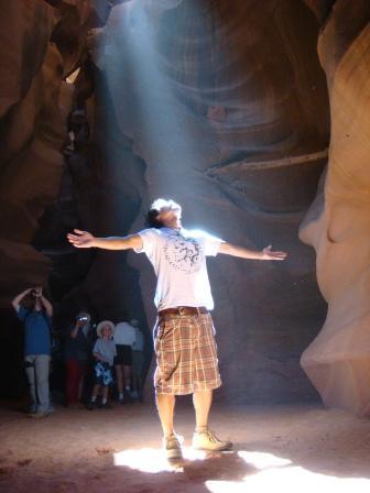 a spiritial light