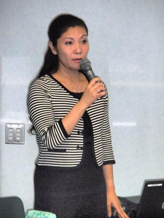 講師の伊藤麻美さん
