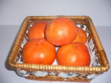 紋平柿の写真