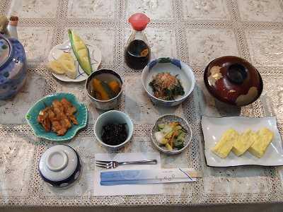 静観荘朝食