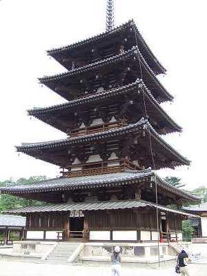 最古の五重塔