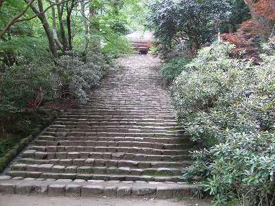 室生寺石段