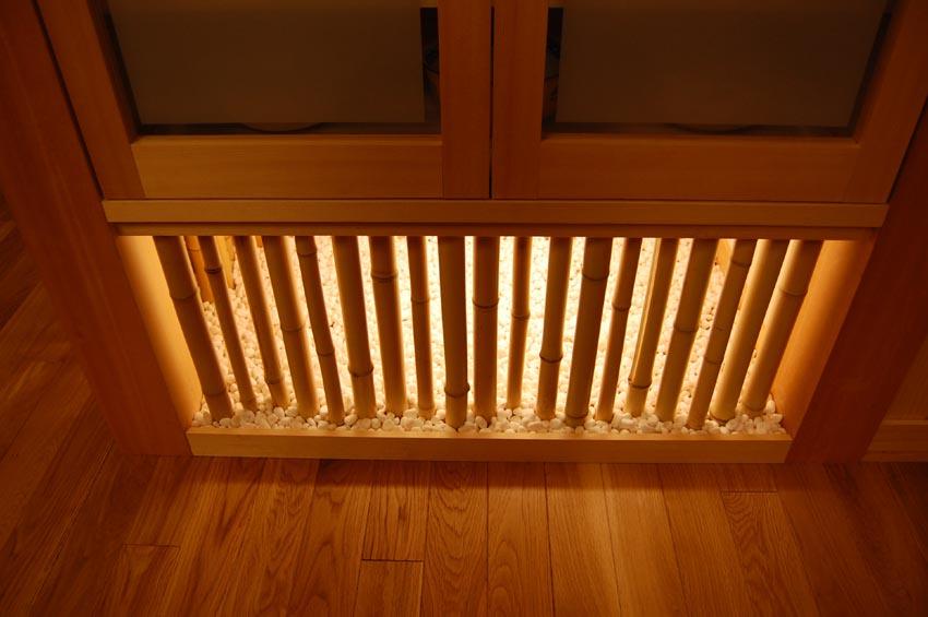 M邸竹の照明