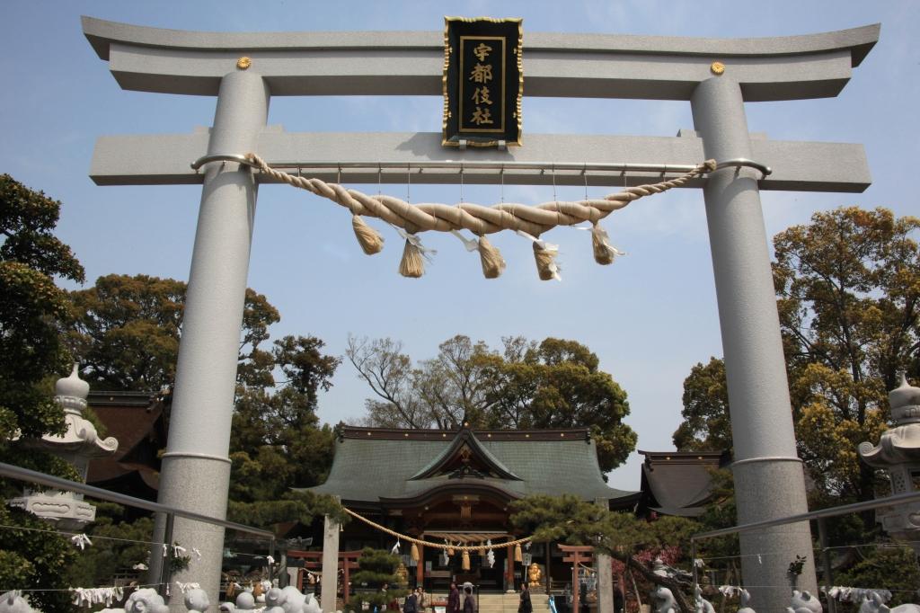 田村神社鳥居