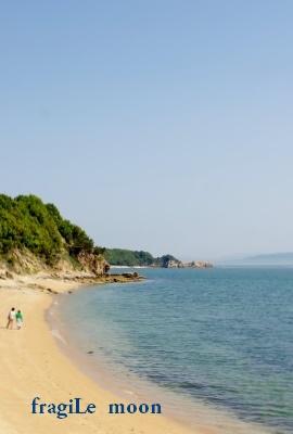 戸形崎 砂浜