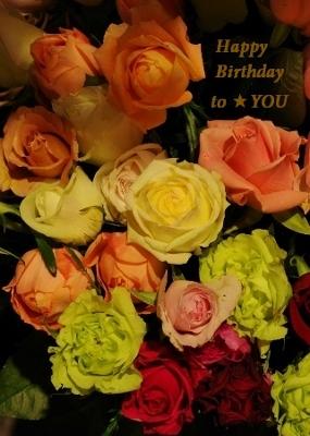 お誕生日ローズ