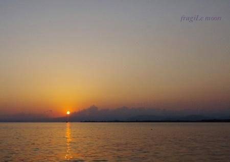 豊公園の日没1
