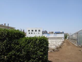 JA東京むさし 三鷹緑化センター 畑