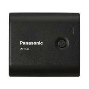 Panasonic USB対応モバイル電源パック リチウムイオン5400 ブラック QE-PL201-K